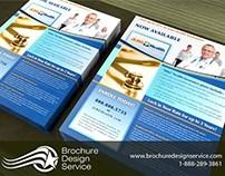 Customer Service Brochure / Flyer for Healthcare