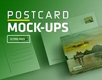 Postcard Mock-Up / Invitation Mock-up