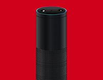 Vector Amazon Echo