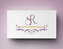 Sharon Ringiér Events Rebrand Design