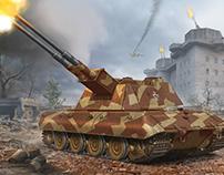 Flakpanzer E-100