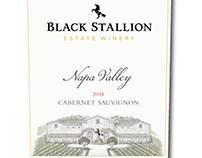 Black Stallion Estate Winery Rendered by Steven Noble