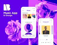 Music App - UI Design