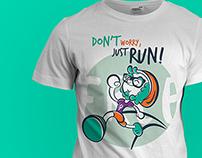 Pixel T-shirt runner