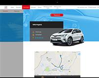 Toyota hybrid test drive
