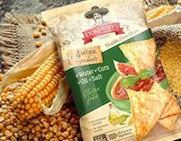 Tortilla chips brand/packaging design