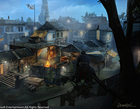 Assassin's Creed Rogue :Gang HQ Concept art