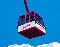 Saas Fee Ski Resort Poster
