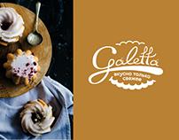 Bakery minimarket Galetta, Logo, Branding, 3D Design