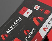 Alstern Technologies Singapore - Branding design