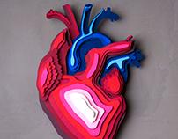 Papercraft Heart.