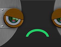 Robot faces - faces for robot application