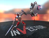 V-bot combat arena