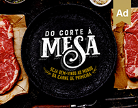 Do corte à mesa - Advertising Campaign