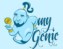 My Genie Logo Entry (99designs)