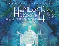Hemlock Groove 4 Music Festival Poster