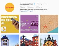 Pegasus Havayolları Instagram Stratejisi