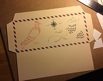 Mail Art - Envelope Designs