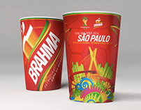 Brahma Cups for 2014 FIFA World Cup Brazil