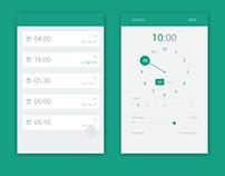 Samsung Clock - Redesign - Updated