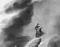 When the sky broke