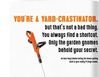 Black+Decker: Yard-crastinator