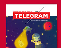 Branding & Illustration: Telegram Magazine