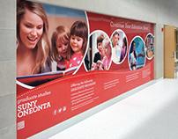 SUNY ONEONTA: Environmental Signage