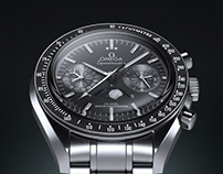 Omega Speedmaster - 3D Product Visualization
