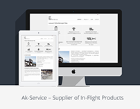 AK Service - corporate website