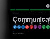 Communication Avenue - Massimo Vignelli & Wim Crouwel