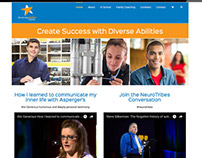 Website for DiverseAbility Teen