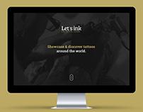 Let's Ink Social Platform  - 2015