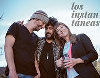 """""""LOS INSTANTÁNEAS"""" grabando en estudio"""