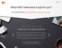 "IHG® - ""Choose Your Brand"" - Concept"