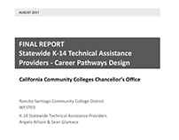 CA Statewide K-14 Career Pathway Final Report - Reports