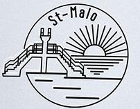 Création logo gîte st-Malo, Loolye Labat