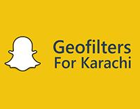 Snapchat Geo-filters   Karachi
