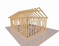 3d Timber Frame - Konstrukcja Szkieletowa