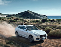 Three locations, three countries, one car: Maserati