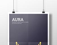 """Poster """"Aura"""""""