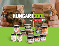SPAR - Hungaricool package designs