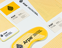 Arpe - Rebranding project
