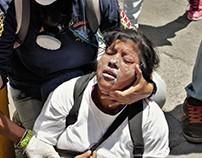 GNB y PNB reprimió a manifestantes en Altamira 14/06