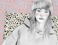 Fashion Illustration - Personal work