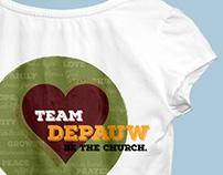 DePauw UMC: Tshirt Design