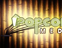 Popcorn Media Logo Intro
