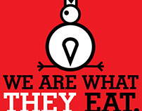WE ARE WHAT THEY EAT.
