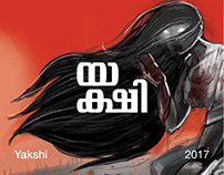 Yakshi - Silent Graphic Novel Design