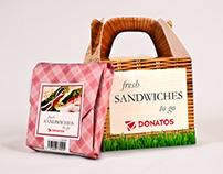Donatos Sandwich Packaging